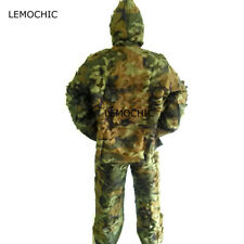 Ghillie Suit Multicam Tactical Camouflage Hunting Clothes Airsoft Sniper Winter