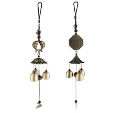 Chinese Feng Shui Antique Bell Wind Chime Home Decor Gifts Mascot Fortune