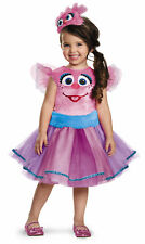 Toddler Sesame Street Abby Cadabby Tutu Deluxe Costume by Disguise 86526