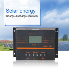 60A/80A Solar Panel LCD USB Battery Regulator Charge Discharge Controller 12/24V