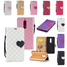 Card Wallet Stand Flip Leather Clip Pouch Skin Cover Case for Nokia 3/5/6