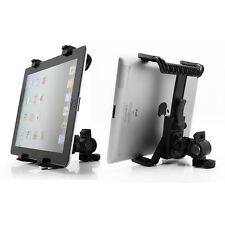 """Microphone Music Motorcycle Bike Bicycle Mount Stand Holder For 7-11"""" Tablet PC"""