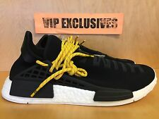 Adidas NMD Human Race Pharrell Williams Black Yellow PW Hu Species Nomad BB3068