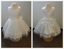 BN Gorgeous Ivory Lace Flower Girls Party Bridesmaid Princess Dress Age 1 - 10