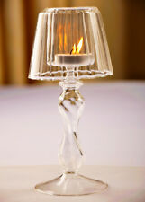 European Votive Xmas Candle Holder Candlestick Centerpieces Glass Tea Light Lamp