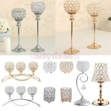 Modern Crystal Candlesticks Tealight Candle Holder Wedding Banquet Decor-VARIOUS