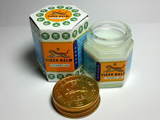 HOT 30g Tiger Balm Thai Herb Relief Massage Red & White Ointment Aches Pains New