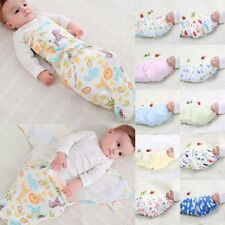 New Baby/Infant Summer Swaddle Me Blanket Wraps/Sleeping Bag 100% cotton 0-5mth
