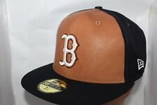Boston Red Sox New Era MLB X Wilson Leather Front 59fifty,Cap,Hat   $ 74.99  NEW