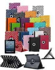 Apple iPad Mini 4 (2015) Tablet Rotating 360 Swivel Case Cover w/ Stand
