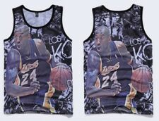 Kobe Bryant Los Angeles Lakers LA Tank Top NBA Vest Singlet Men Shirt All Size