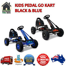 Kids Pedal Powered Go Kart Racing Cart Ride on Toy Car Buggy Childrens Toys New
