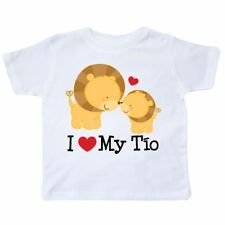 Inktastic I Love My Tio Uncle Gift For Nephew Toddler T-Shirt Heart Baby Niece