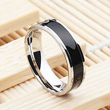 Mens Jewelry Free Shipping Womens Gift Stainless Steel Ring Band Titanium 8mm