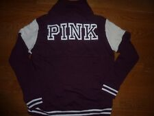 "VICTORIAS SECRET PINK ""PINK"" ""LOVE PINK"" 1/4 ZIP SWEATSHIRT/JACKET NWT"
