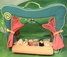 Manhattan Toys Soft Puppet Theater with 6 Finger Puppets, Nice!