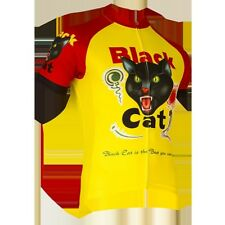 Black Cat Fireworks Men's Short Sleeve Cycling Jersey