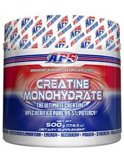 APS Supplements CREATINE MONOHYDRATE Increase Strength,Power &Muscle-500g Or 1Kg