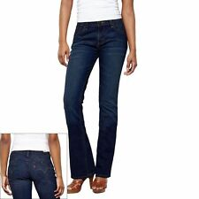 Levis 515 Womens Bootcut Jeans Regular Fit Mid Rise Belle Blue Wash size 4 NEW