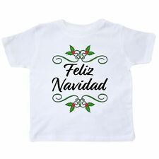 Inktastic Feliz Navidad Toddler T-Shirt Christmas Holiday Merry Celebrate Holly