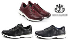 Mens Lace Up Fashion Trainers Sport Style Italian Designer Casual Running Shoes