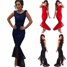 Classy Women Long Ball Gown Party Prom Cocktail Wedding Bridesmaid Evening Dress