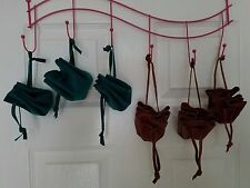 Medieval/Renaissance Drawstring Suede or Leather Pouch - Costume Acces./Gift Bag
