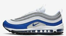 Nike AIR MAX-97 WOMEN'S SHOE White/Neutral Grey/Game Royal- Size US 9, 9.5 Or 10