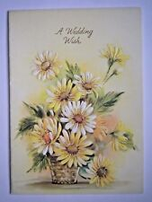 VINTAGE WEDDING GREETING CARD WITH ENVELOPE ~ You Choose