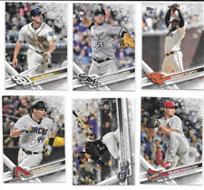 2017 Topps Holiday Box Metallic Snowflake SP U PICK FROM LIST COMPLETE YOUR SET