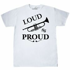 Inktastic Loud And Proud Trumpet T-Shirt Music Brass Horn Band Musical Marching