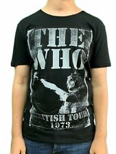 The Who Tour 1973 Amplified Unisex Official Tee Shirt Brand New Various Sizes