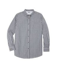 NWT MEN PLUS SIZE BIG & TALL Wrinkle-Resistant Long Sleeve Classic Sport Shirt