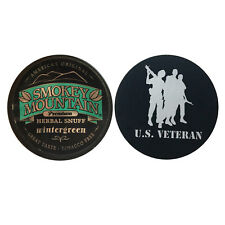 Smokey Mountain Herbal Snuff/Chew - Wintergreen 1ct - with DC Skin Can Cover
