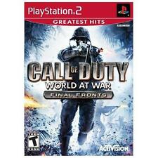 Call of Duty: World at War -- Final Fronts Greatest Hits (Sony PlayStation 2,...