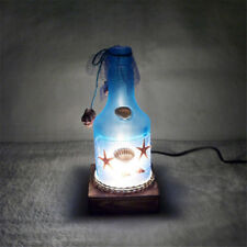 Night Light Creative Romantic Ocean Style Bottle Table Lamp Home Decor Gifts