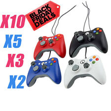 NEW LOT 2 5 10 Wired Gamepad Remote Controller for Microsoft Xbox 360 Console MX