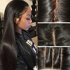 Straight Lace Front Wigs Natural Black Synthetic Lace front Wig Heat Resistant