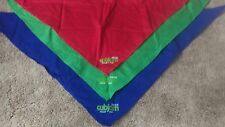 CUBJAM 2016 SCARF NECKER RED BLUE GREEN YOUTH NEW - FREE POSTAGE