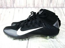 Nike Vapor Untouchable 2 Football Cleats Black/Silver Mens Size 10,11, 12 New