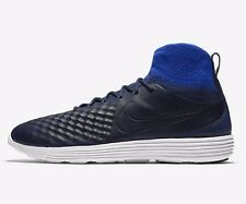 Nike LUNAR MAGISTA II FLYKNIT MEN'S SHOES,NAVY/BLUE/WHITE- Size US 12,12.5 Or 13