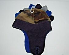 NWT Baby GAP Boys Fleece Dinosaur Trapper Hat Dino Camo Camouflage S M L NEW