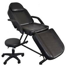 Beauty Barber Chair With Stool Facial Tattoo Chair Salon Equipment-NEW