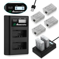 LP-E8 Battery & LCD USB Charger For Canon EOS 550D 600D 650D 700D Rebel T3i T4i