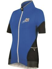 Santini Azure Blue Mearsey Womens Short Sleeved Cycling Jersey