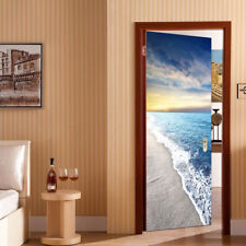3D Removable Wall Art Decals Door Fridge DIY Stickers For Home Hotel Decor