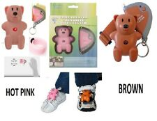 Mommy I'm Here Teddy Bear CL305HP Child Locator - Hot Pink & Brown