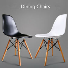 Beauty Kitchen Retro Dining Chairs Office Hot 2/4pcs Home Eames Eiffel DSW Beech
