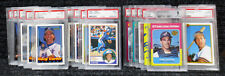 Gary Carter / PSA Graded Cards / Hall of Famer / Expos / Mets / Dodgers / Giants