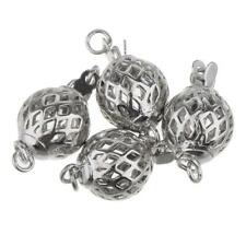 5pcs Tibetan Silver Charms Bails Beads DIY Jewelry Connectors Finding Making